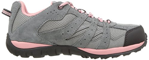 Columbia Youth Redmond, Chaussures Multisport Outdoor Fille Gris (Steam, Rosewater 088)