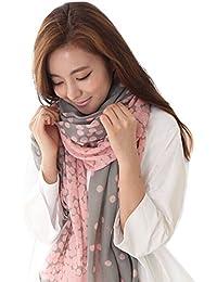 Bufanda - TOOGOO(R)Nueva bufanda larga de moda de colores de caramel bufanda envuelve estola del manton bufanda suave agrisada
