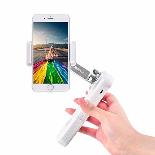 Smartphone Gimbal X-CAM SIGHT2S Handheld Stabilizer para Smartphone Incluye iPhone / Samsung / Galaxy / Apple / Android, 2 Axis Gimbal plegable con detección de rostros, aplicación de lapso de tiempo