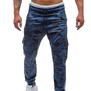 Kunfang Männer Freizeit Hosen Fest Kleine Füße Sport Hosen Elastische Taille Fitness Tarnung Hosen schwarz/grün/dunkelgrau/blau/armeegrün