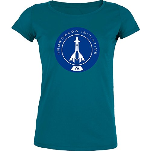 Andromeda Initiative II - Stella Girl-Shirt, Diva Blue, Gr. S (Diva Kids T-shirt)