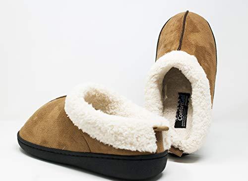 Zapatillas para Andar por casa Confort Gel Premium, con Gel y Relax. Unisex, ayudan a Mejorar tu Salud. (XL, Azul) (XL, Beige)