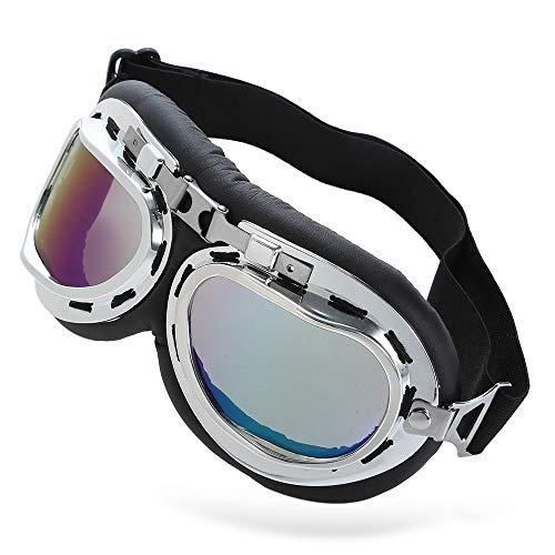 LIUYUNE,UV-Schutzbrillen Windschutz Motorradbrillen für Outdoor-Sportarten(Color:COLORMIX)