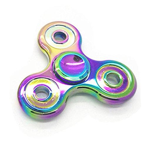 Preisvergleich Produktbild Saingace Tri-Spinner Fidget Hand Spinner Camouflage Multi-Color, EDC Focus Spielzeug für Kinder & Erwachsene