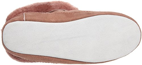 Shepherd Emmy Slipper, Chaussons à doublure chaude femme Rouge - Rot (MARSALA 90)