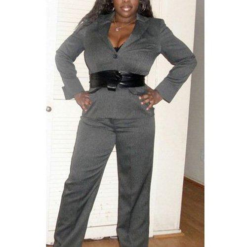 nuovo prodotto 4bafe 07c89 SODIAL(TM) Cintura fusciacca in pelle da donna nero