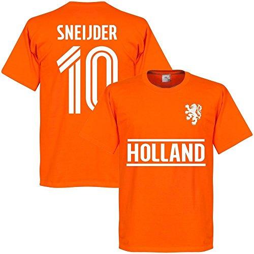 Holland Sneijder 10 Team T-Shirt - orange - XXL