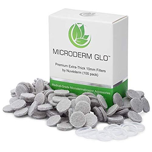 Microderm GLO Extradicke 10 mm Filter von Microderm GLO (100 Stück) - Medical Grade...