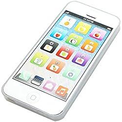 Faux téléphone jouet Yphone par Cooplay, 1:1, comme un 5S, rechargeable avec câble USB, pour enfants