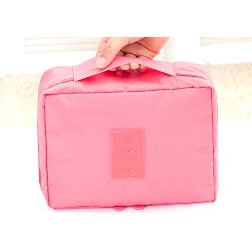 Missofsweet viaggio Lavare Borsa Cosmetici Borsa impermeabile per i viaggi di pacchetti Pink