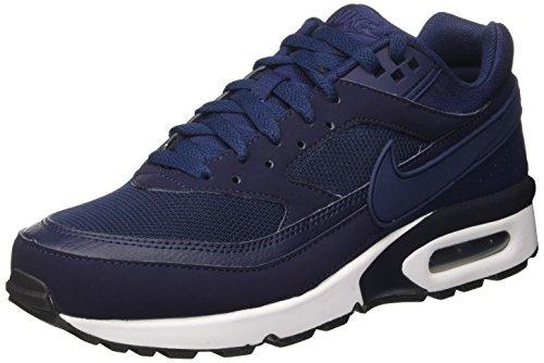 Nike Men's Air Max Bw Gymnastics Shoes, Blue (Midnight Navy/Midnight Navy/White/Black), 6...