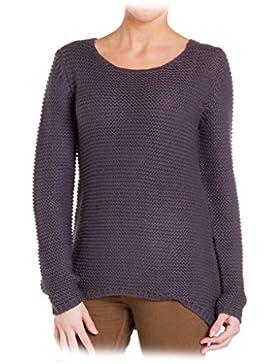 Carrera Jeans - Suéter 8720241A para mujer, estilo asimétrico, color liso, ajuste regular, manga larga
