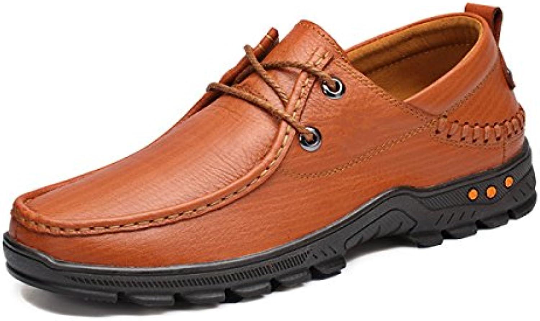Zapatos Para Hombres Zapatos Casuales Para Hombres Negocios Cuero Zapatos Hechos A Mano