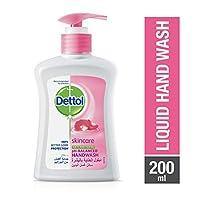 Dettol Skincare Anti-Bacterial Liquid Hand Wash 200ml