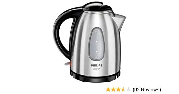 Philips HD4666/20 Metal Kettle   Brushed Stainless Steel 1.7lt 3000w:  Amazon.co.uk: Kitchen U0026 Home