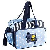 fnemo Baby-Windel-Handtasche,Frauen-Multifunktionswindel-Taschen-Reise-Windel-Taschen mit Reißverschluss