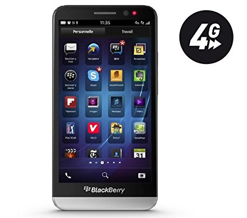 Foto BlackBerry 10 Z30 16GB 4G Black - smartphones (Single SIM, BlackBerry OS, EDGE, GPRS, GSM, HSPA, UMTS, LTE, Micro-USB B)