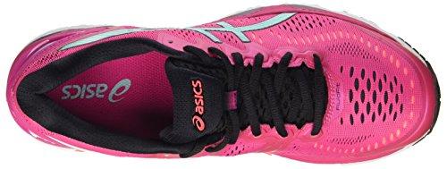 Asics Gel-Kayano 23 W, Scarpe Sportive Outdoor Donna Multicolore (Sport Pink/Aruba Blue/Flash Coral)