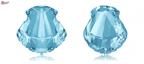 Crystals Swarovski Elements Fancy Stones 4789 MM 14,0 F - Crystal F (001) ; contenu de paquet:1 ; mm de longueur:14 : mm de largeur: 14 Aquamarine (202)