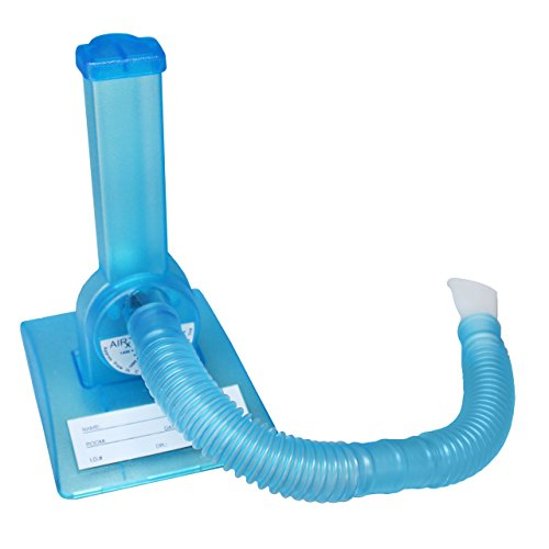 Spirometer, Atemtrainer für Logopädie Therapie Ergotherapie Lungentraining Lungentrainer Atemtraining