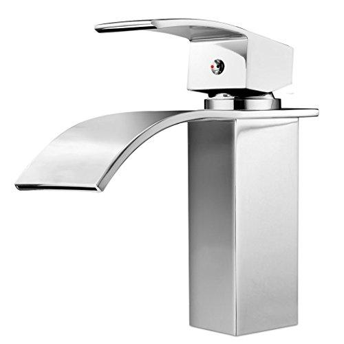 Ancheer Design Einhebel Wasserhahn Waschtischarmatur Wasserfall
