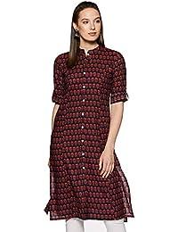 Amazon Brand - Myx Women's A–Line Kurta