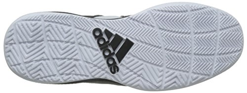 adidas Dt Bball Mid, Basket homme Multicolore - Multicolore (Ftwwht/Cblack/Clonix)