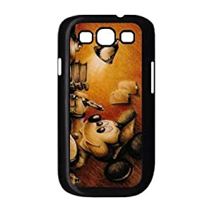 Samsung Galaxy S3 9300 Cell Phone Case Black Disney Mickey Mouse Minnie Mouse L2994435