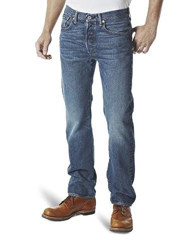 Levi Strauss & Co 501 Original Fit, Jeans Homme, Bleu (HOOK), 31/30(UK)