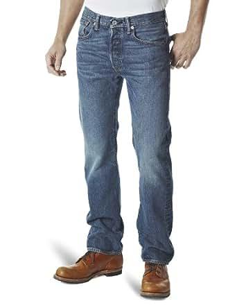 Levi's Homme 501 Original Straight Fit Jeans, Bleu (Hook), W28/L32