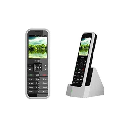 Original Unidata INCOM ICW-1000G Wireless WiFi WLAN VoIP SIP Telefon, TFT Nortel Pbx Systeme