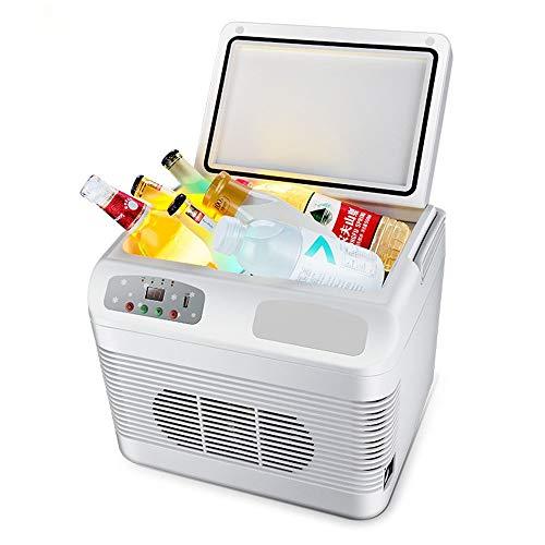 ktrischer Kühlraum und wärmerer Minikühlraum for Auto-Kühlraum mit automatischem verriegelngriff, thermoelektrischer System-tragbarer Auto-Kühlraum Wechselstroms 12V DC for die Reis ()