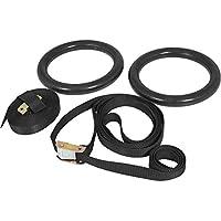 Gorilla Sports Turnringe Gym Ring Set - Material para Entrenamiento en suspensión, Talla One Size