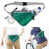 #10: Glive's Men Women Outdoor Travel Sports Kettle Waist Pack Fanny Pack Chest Belt Bag