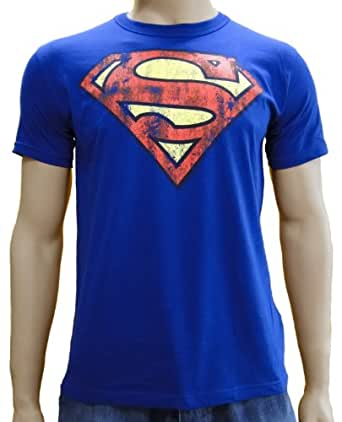 Superman Logo Logoshirt T-Shirt Royal, S