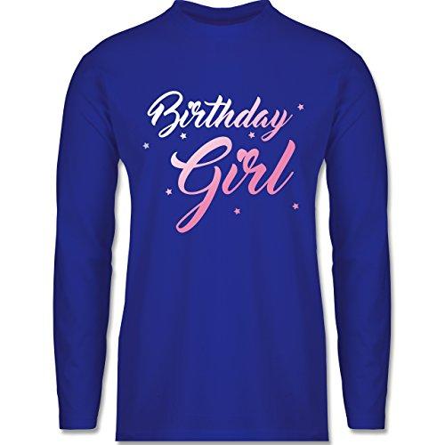 Shirtracer Geburtstag - Birthday Girl - Herren Langarmshirt Royalblau