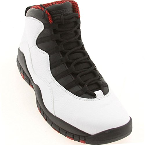 Nike Air Jordan Retro 10, Chaussures de Sport-Basketball Homme, Gris white