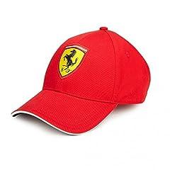 Idea Regalo - Scuderia Ferrari Gorra Niño Clásica Roja