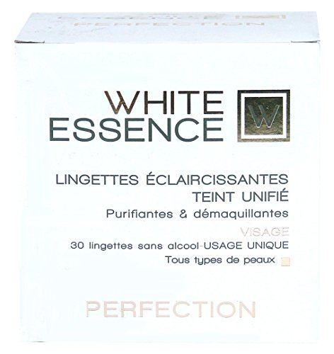 HT 26 White Essence Cleansing and Purifying Wipes (Lot de 30 lingettes de nettoyage