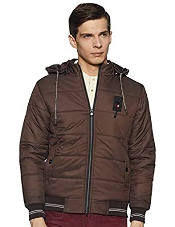 Qube By Fort Collins Men's Jacket (14920AZ_Tan_XL)