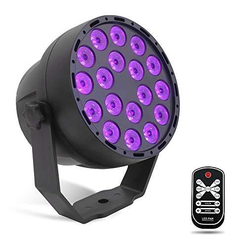 SUTIANZHANG 18 LED luz púrpura luz Igualdad, Control