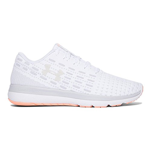 Under Armour Threadborne Slingflex Womens Chaussure de Course À Pied - SS17 White/Glacier Gray/White