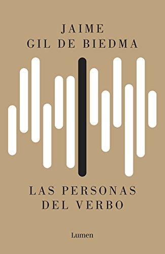 Portada del libro Las personas del verbo (POESIA)