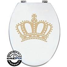 Etiqueta de colour corona para pressalit WC tapa de inodoro