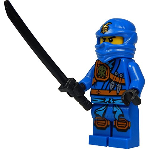 gur Jay (blauer Ninja) mit Katana (Schwert) 2015 Version (Blaue Lego Ninjago)