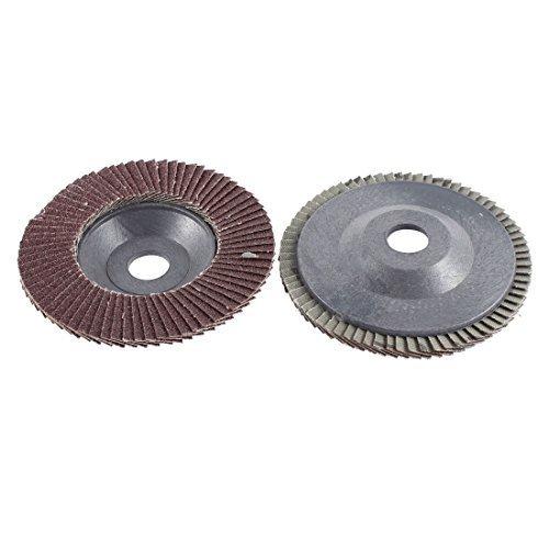 Amico, a13101100ux1123, Coppia 10:16 cm di diametro, ruote lamellari abrasive mole A80, 13.000 giri / min