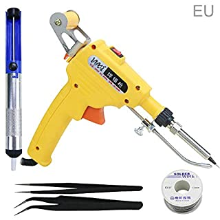 Awtang 60W soldering gun automatic hand-held internal heating, with tweezers solder wire soldering device tool
