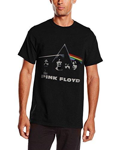 Pink Floyd - DSOTM Band and Prism, Short sleeve da uomo, nero (black), 2XL