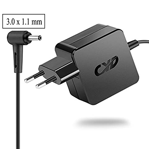 CYD 33W 19V 1.75A PowerFast-Alimentation-Chargeurs-Charge pour Acer Aspire R 13 R7-371t R7-372 14 R5-471T 15 R5-571t S5-371 S7-392 S7-393 V3-331 V3-371 V3-372t Switch 11 11V 12 Alpha SW5-171 SW5-171p SW5-173P SW5-271 SA5-271 Acer Aspire One Cloud Ordinateur Portable 11 14 ao1-131 ao1-431 Acer Spin 5 sp513-51 Acer Swift 3 sf314-51 A13-045 N2 A PA 1450-26, 8.2 Feet(2.5m) Ordinateur-Portable-Laptop-AC-Adaptateur Câble pour Acer Aspire Notebook