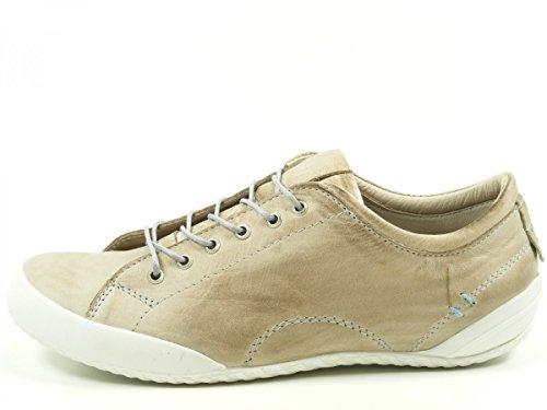 Andrea Conti 0340559 chaussures à lacets femme Beige